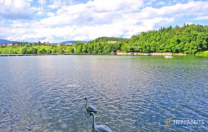 Šmartinsko Lake